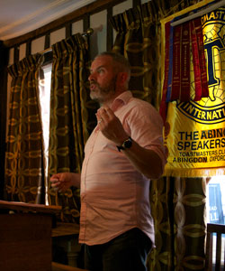 Abingdon Speakers Club President